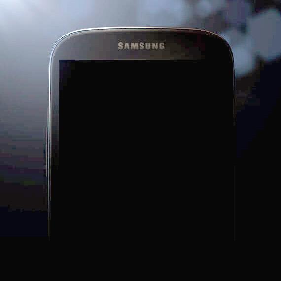 Samsung Galaxy S IV shape teaser