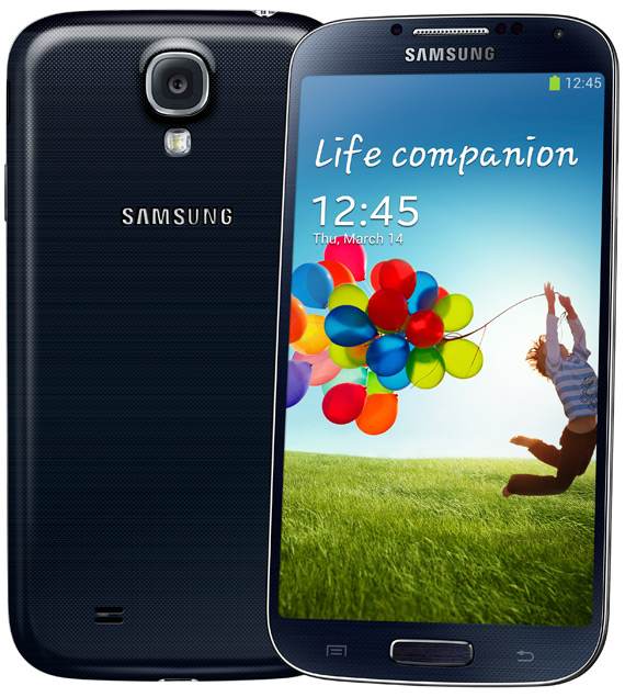 Samsung Galaxy S 4 blue official