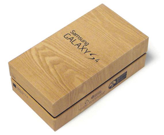Samsung Galaxy S 4 box