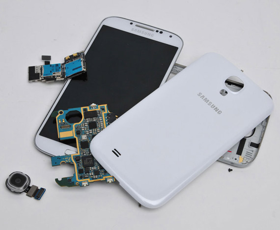 Samsung Galaxy S 4 teardown