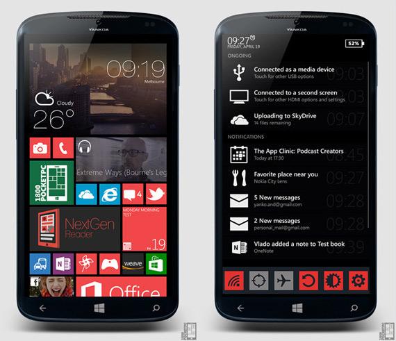 Windows Phone 8.1 concept