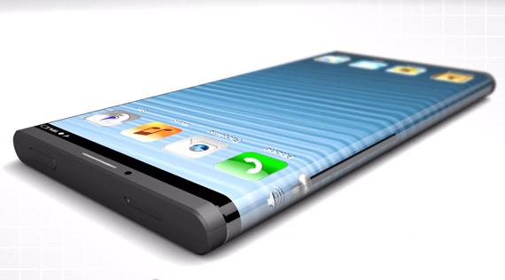 iPhone 6 flexible smartphone concept