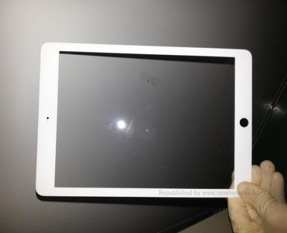 iPad 5 bezel