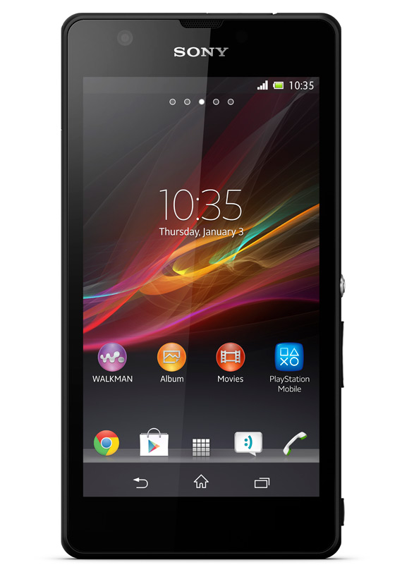 Sony Xperia ZR, Αναβάθμιση σε Android 4.2.2