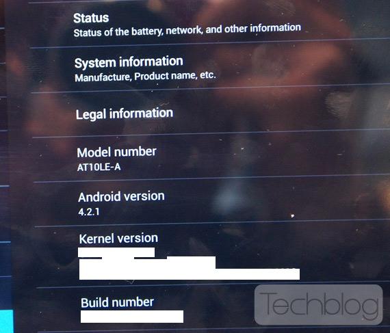 Toshiba AT10LE-A