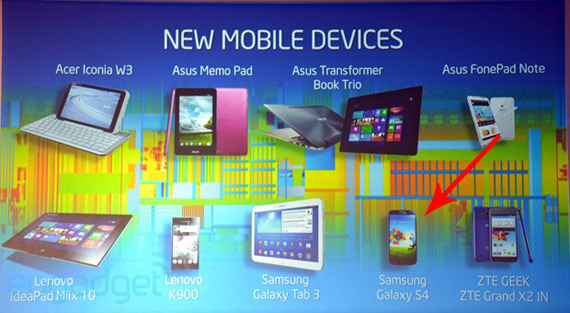 Galaxy S4 Intel SoC