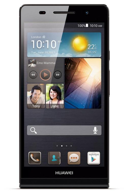 Huawei Ascend P6 πλήρη τεχνικά χαρακτηριστικά και αναβαθμίσεις
