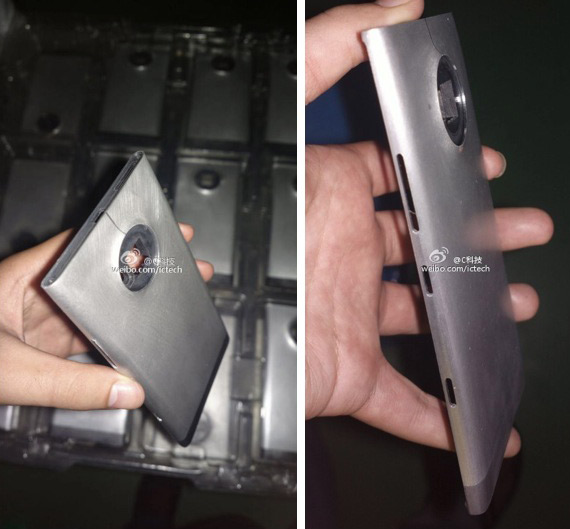 Nokia EOS metal body