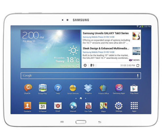 Samsung Galaxy Tab 3 10.1 official