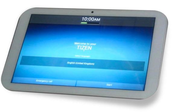 Systena Tizen tablet