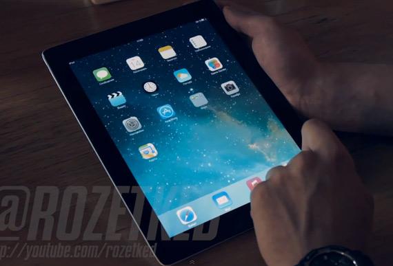 iOS 7 Beta iPad