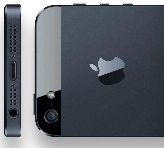 iPhone 5 bottom back