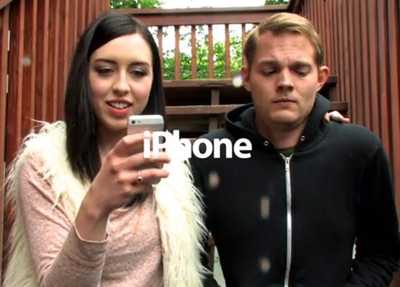 iphone ad parody