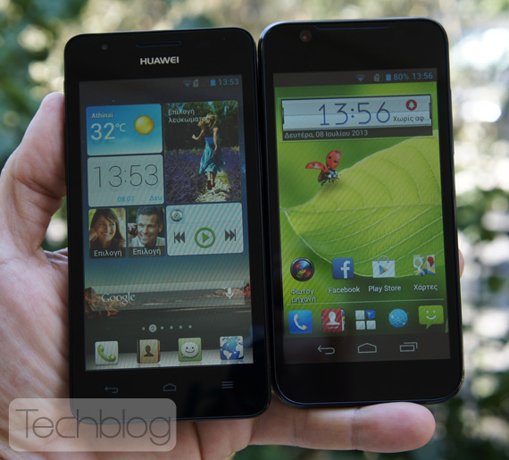 Huawei Ascend G510 εναντίον ZTE Blade G
