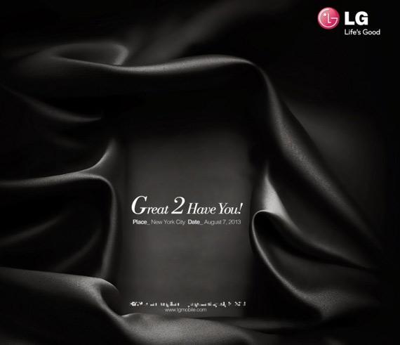 LG Great 2 have you NY Optimus G2 invitation