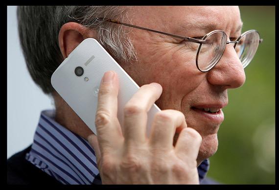 Motorola Moto X Eric Schmidt
