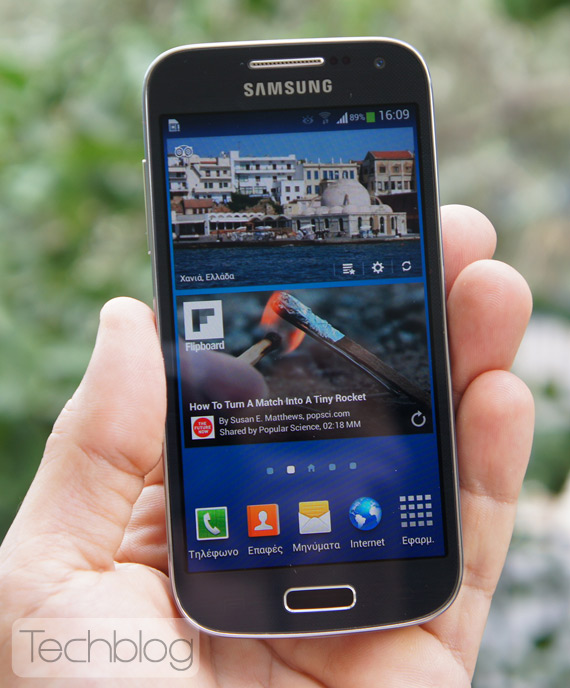Samsung Galaxy S4 mini Techblog