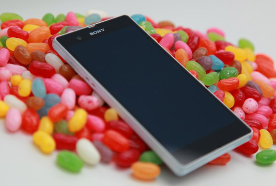 Sony Xperia Jelly Bean time