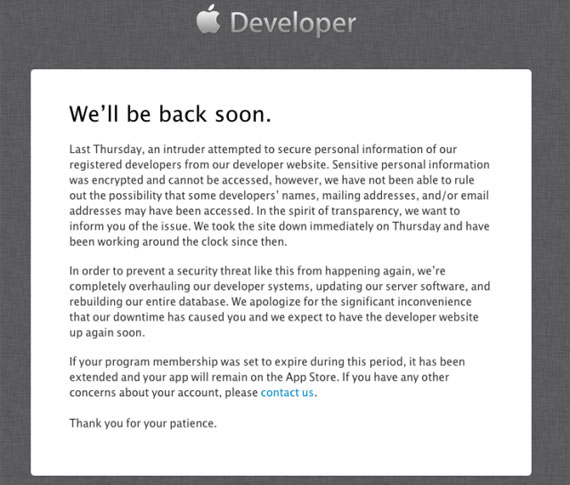 Hackers στο Apple Development Center