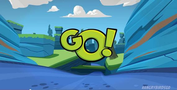 Angry Birds GO, Έρχεται το νέο game της Rovio