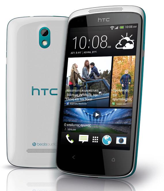 HTC Desire 500 πλήρη τεχνικά χαρακτηριστικά και αναβαθμίσεις