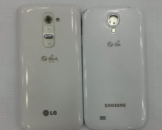 LG G2 compare to Galaxy S4