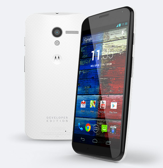Motorola Moto X developer edition