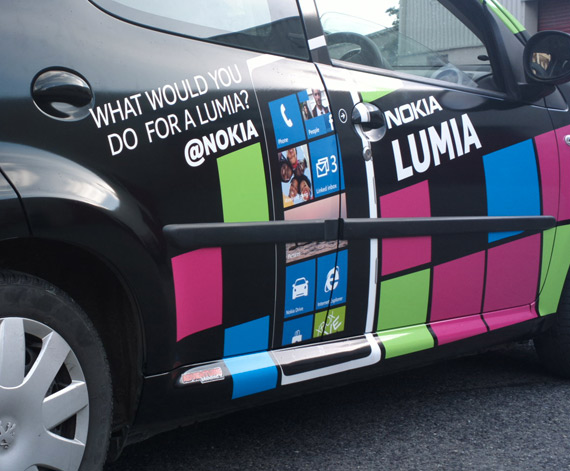 Nokia Lumia in-car