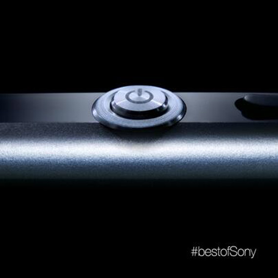 Sony Xperia Z1 Honami teaser power button
