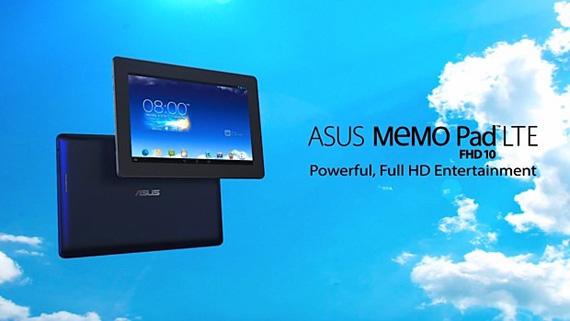 Asus MeMO Pad FHD 10 LTE, Αποκάλυψη μέσα από ένα βίντεο