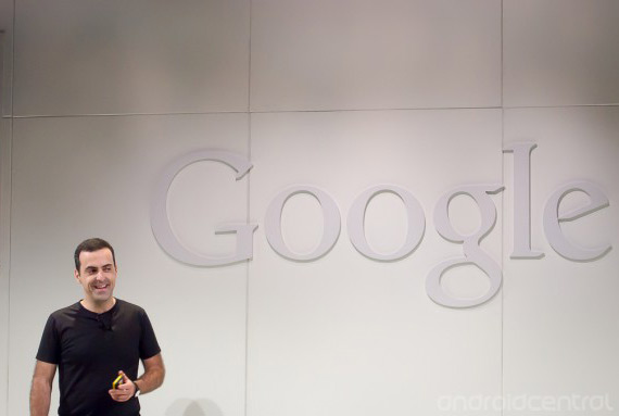 Hugo Barra google event