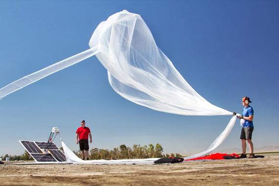Google Project Loon, Βάζει το ίντερνετ σε ένα μπαλόνι