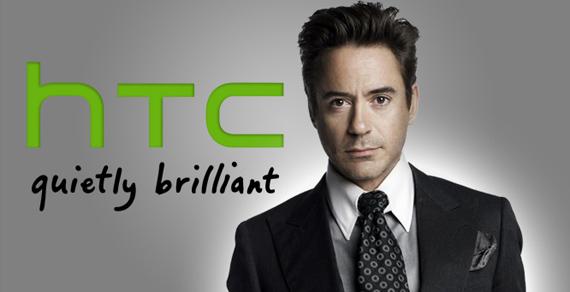 HTC, Με τον Robert Downey Jr στη νέα καμπάνια marketing