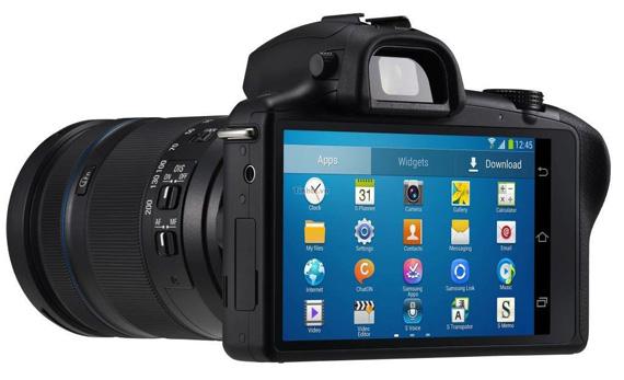Samsung Galaxy NX, Επίσημη διάθεση της DSLR με Android