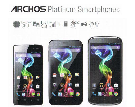 Archos Platinum series