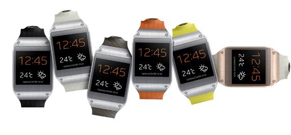 Samsung Galaxy Gear, Παρουσιάστηκε στην IFA