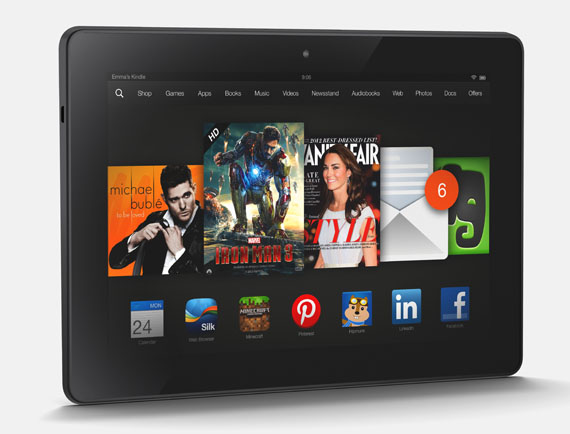 Amazon Kindle Fire HDX, Στα πολλά pixels