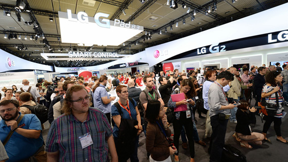 LG IFA 2013 Booth tour