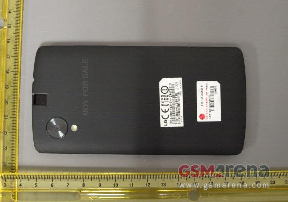 LG Nexus 5 FCC image