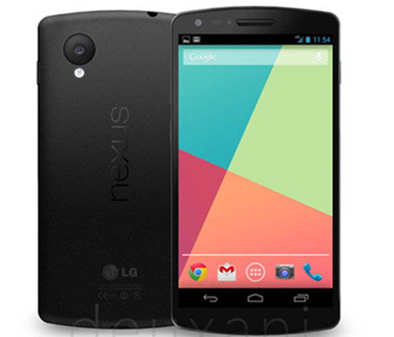 LG Nexus 5 press image leaked