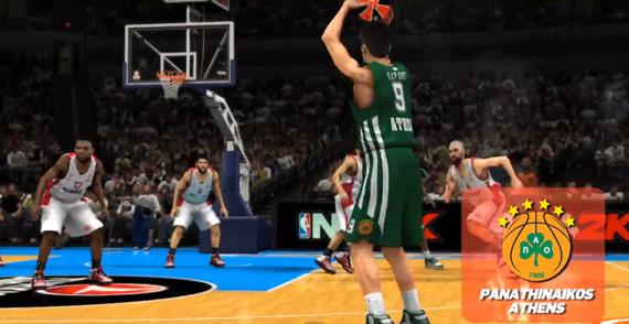 NBA 2K14 Official Trailer Panathinaikos