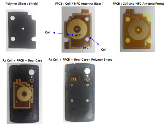 Nexus 5 internal parts
