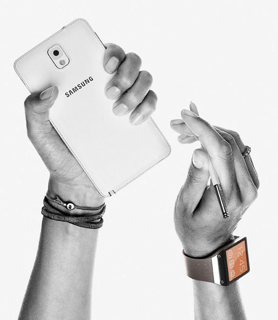 Samsung Galaxy Note 3 και Galaxy Gear