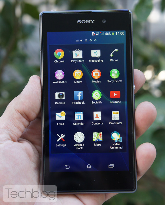 Sony Xperia Z1 Techblog
