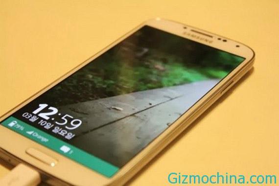 Tizen OS 3.0 UI, Κάνει την εμφάνιση του σε Galaxy S4