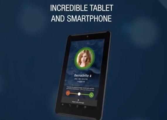 Asus Fonepad 7, Πρώτο βίντεο από το κινητό-tablet