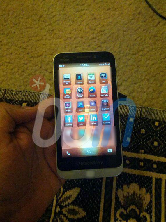 BlackBerry, Διαρροή φωτογραφίας μοντέλου C Series