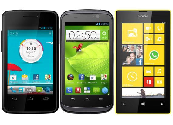 Smartphones με τιμή έως 199 ευρώ