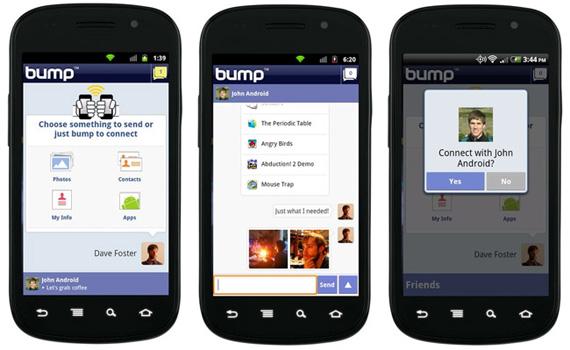 Google, Εξαγοράζει το Bump app