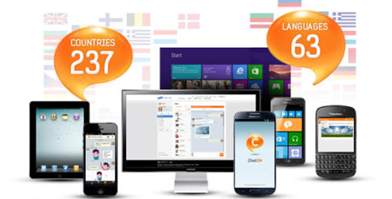 Samsung ChatOn, 100 εκ. χρήστες σε 237 χώρες